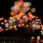諏訪湖祭湖上花火大会 と 全国新作花火競技大会  って同じなの?